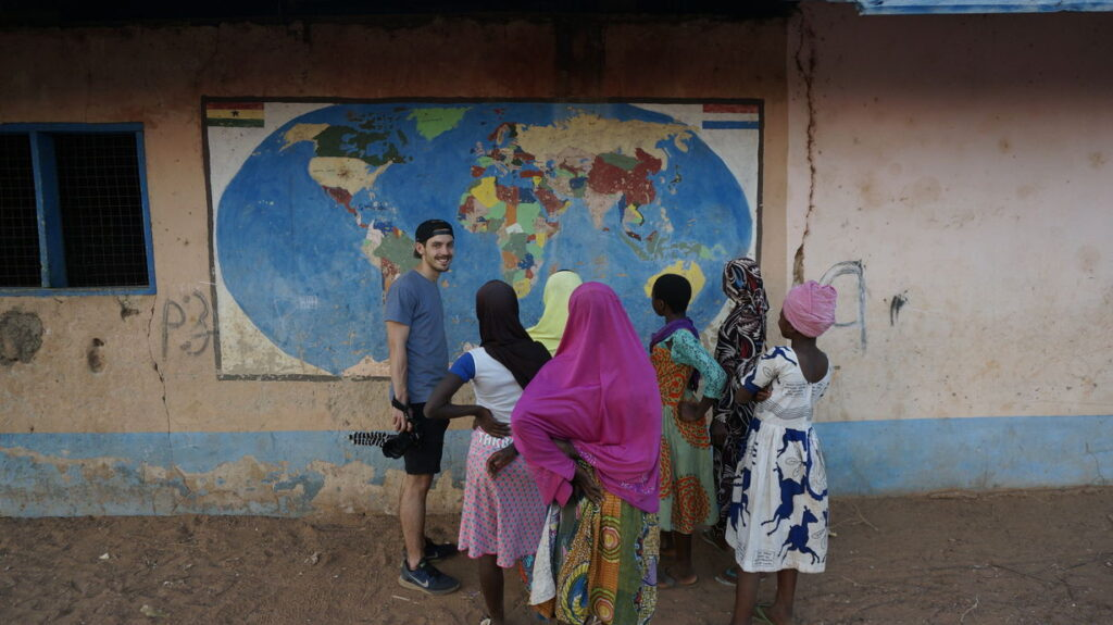 Geografieunterricht in Larabanga