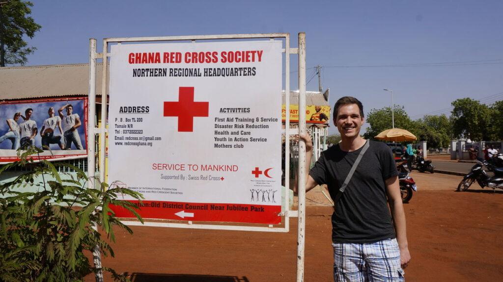 Das Rote Kreuz in Tamale